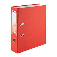 Папка-регистратор Delta  односторонняя, PP, 7.5 см, собранная, красная