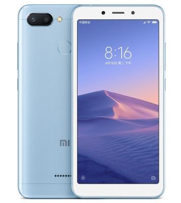 Xiaomi Redmi 6, 3/32GB, Blue, Global