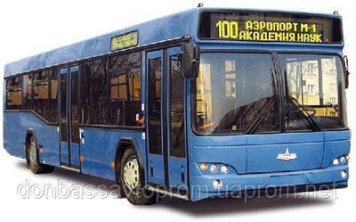 Новый пригородный автобус МАЗ 103 586