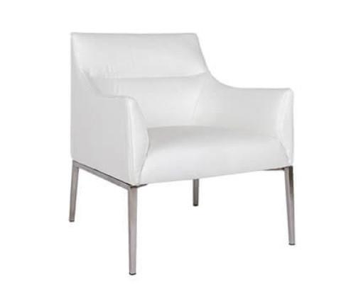 Лаунж - кресло MERIDA (600*510*880см) белый