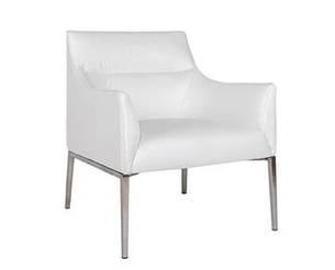 Лаунж - кресло MERIDA (600*510*880см) белый, фото 2