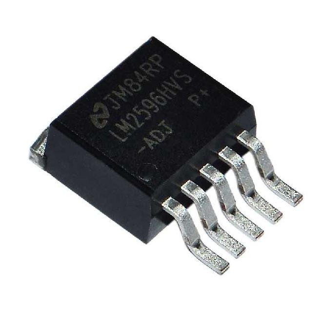 Стабилизатор напряжения, микросхема LM2596S-ADJ TO-263-5