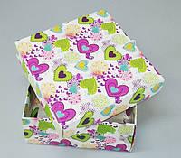 Подарочная упаковка праздничная картонная 195*195*97