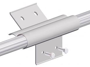 Тримач смуги Cepro Blade Hook на трубу діаметром 32-33.7 мм