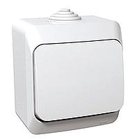 Выключатель 1-полюсный 1-клавишный Schneider Cedar Plus влагозащищенный IP44