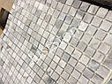 Мраморная Мозаичная плитка Стар.Валт. МКР-4СВ (15х15) 6 мм Grey Mix, фото 3