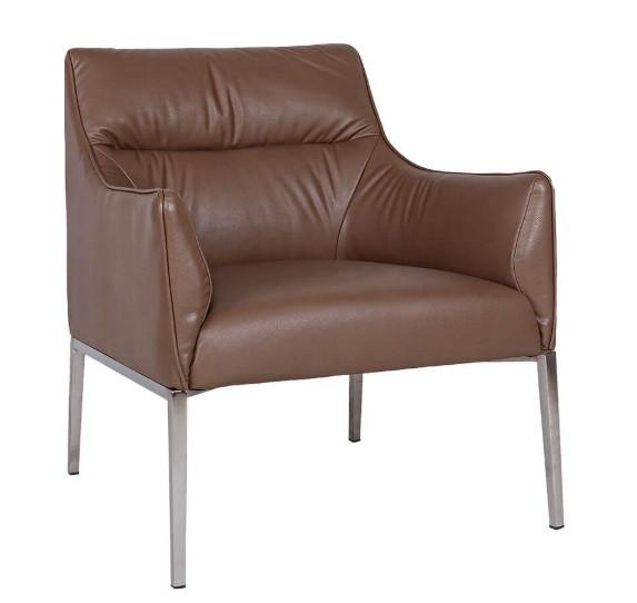 Лаунж - кресло MERIDA (600*510*880см) молочный шоколад