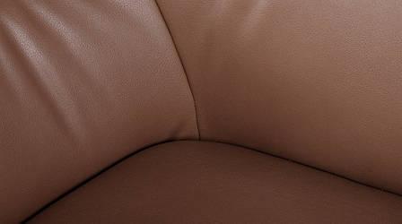 Лаунж - кресло MERIDA (600*510*880см) молочный шоколад, фото 2