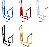 Флягодержатель велосипед алюминиевый разные цвета бутылка держатель
