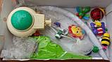 """Карусель-проектор (мобиль) на кроватку с ночником проектором звездного неба """"На добраніч"""" KI-901, фото 4"""