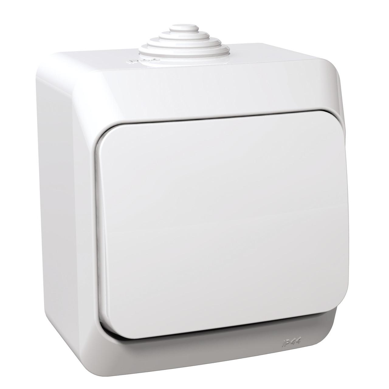 Кнопка 1-полюсн. Schneider Cedar Plus  влагозащищенная IP44