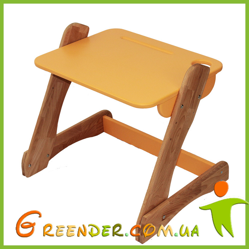 Детский столик оранжевый от производителя! (с регулировкой)