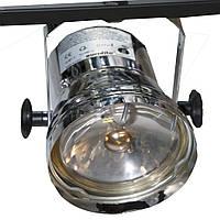 Прожектор PAR 36 Тубус+ лампа  (хром)