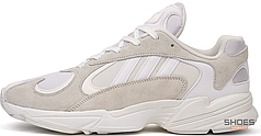 Мужские кроссовки Adidas Yung 1 Cloud White/Footwear White B37616, Адидас Янг 1
