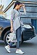 Ультрамодный женский кардиган 3587 серый (S-XL), фото 4