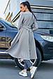 Ультрамодный женский кардиган 3587 серый (S-XL), фото 5