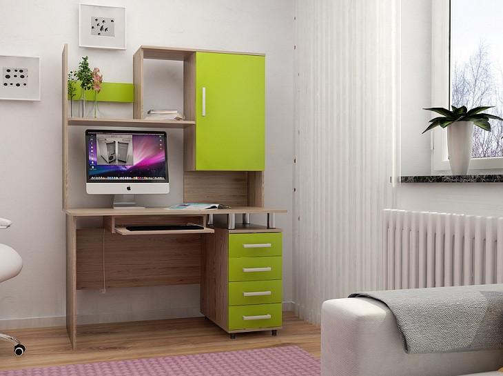 Стол компьютерный с надставкой СК-5 (Лион)