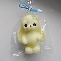 Мыло кролик, детское мыло, сувенирное мыло, мыло зайка