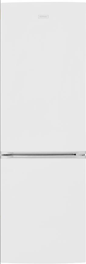 Отдельно стоящий холодильник с морозильной камерой Kernau KFRC 18161 NF W