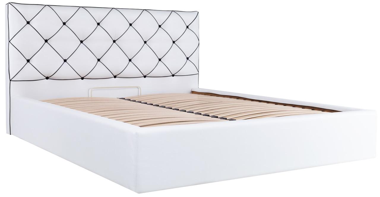 """Двуспальная кровать """"Мелиса"""" с подъемным механизмом (без матраса) ТМ Richman"""