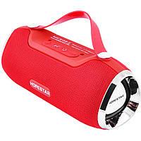 Портативная Bluetooth колонка Hopestar H40 с влагозащитой Red USB FM FL-382, КОД: 1083815
