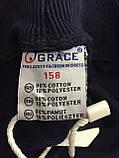 Спортивные трикотажные штаны для мальчика подростка 146 см, фото 5