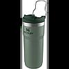 Термокружка STANLEY Classic 0.47L Twin Lock белый, черный, зеленый (10-06443-017), фото 3