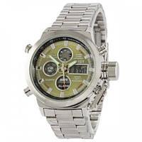 Часы мужские наручные AMST Metall Серебристые 1094-0052, КОД: 1023585