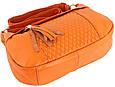 Кожаная женская сумка TRAUM 7322-28 оранжевый, фото 2