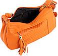 Кожаная женская сумка TRAUM 7322-28 оранжевый, фото 4