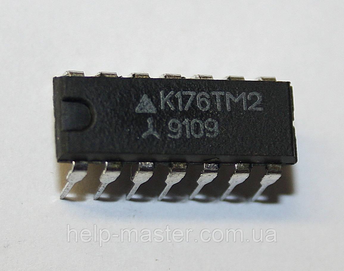 Микросхема К176ТМ2 (DIP-14)