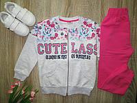 Детский спортивный костюм для девочки р 110; 116