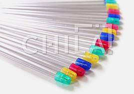 Слюноотсосы стоматологические со съемным наконечником (100 шт/уп), СИНИЕ