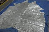 Devore-Metalic - шкура корови сіра, фото 4