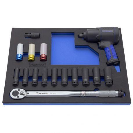 Набор инструмента для телег, 16 предметов ANDRMAX