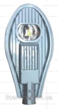 Вуличний світлодіодний консольний світильник ОПТИМА LED ДКУ Efa S 30-002 У1 5000К (09274), фото 2