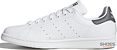 Женские кроссовки Adidas Stan Smith White Black CQ2206, Адидас Стен Смит