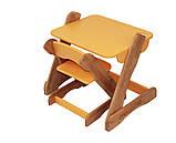 Детский столик и стульчик оранжевый от производителя! (с регулировкой), фото 2