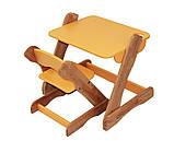 Детский столик и стульчик оранжевый от производителя! (с регулировкой), фото 3
