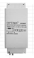 Дросель для ртутных (ДРЛ) ламп ОПТИМА 400MBF (01501)