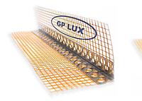 Угол алюминиевый с сеткой 3м 7*7см GP LUX ORANGE