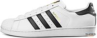 Женские кроссовки Adidas Superstar Cloud White/Core Black C77124, Адидас Суперстар