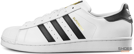 Женские кроссовки Adidas Superstar Cloud White/Core Black C77124, Адидас Суперстар, фото 2