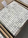 Мраморная Мозаика Стар.Валт. МКР-4СВ (15х15) 6 мм White Mix, фото 5
