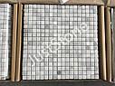 Мраморная Мозаика Стар.Валт. МКР-4СВ (15х15) 6 мм White Mix, фото 2