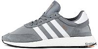 Мужские кроссовки Adidas Iniki Runner I-5923 Boost Grey BB2089, Адидас Иники Ранер I-5923