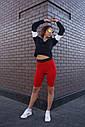 Велосипедки женские красные бренд ТУР модель Джин (Jin), фото 4