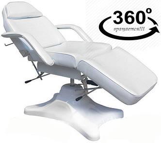 Кушетка косметологическая гидравлическая стационарная BS-234 Белый цвет