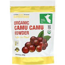 """Органический порошок каму-каму California GOLD Nutrition, Superfoods """"Organic Camu Camu Powder"""" (240 г)"""