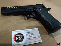 Игрушка металлический пневматический пистолет Colt J26